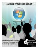 UMA Microsoft Workshop Flier