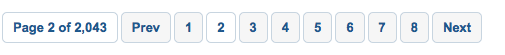 Mashable Page Navigation