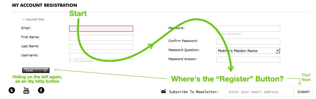 Barneys Register Account Online