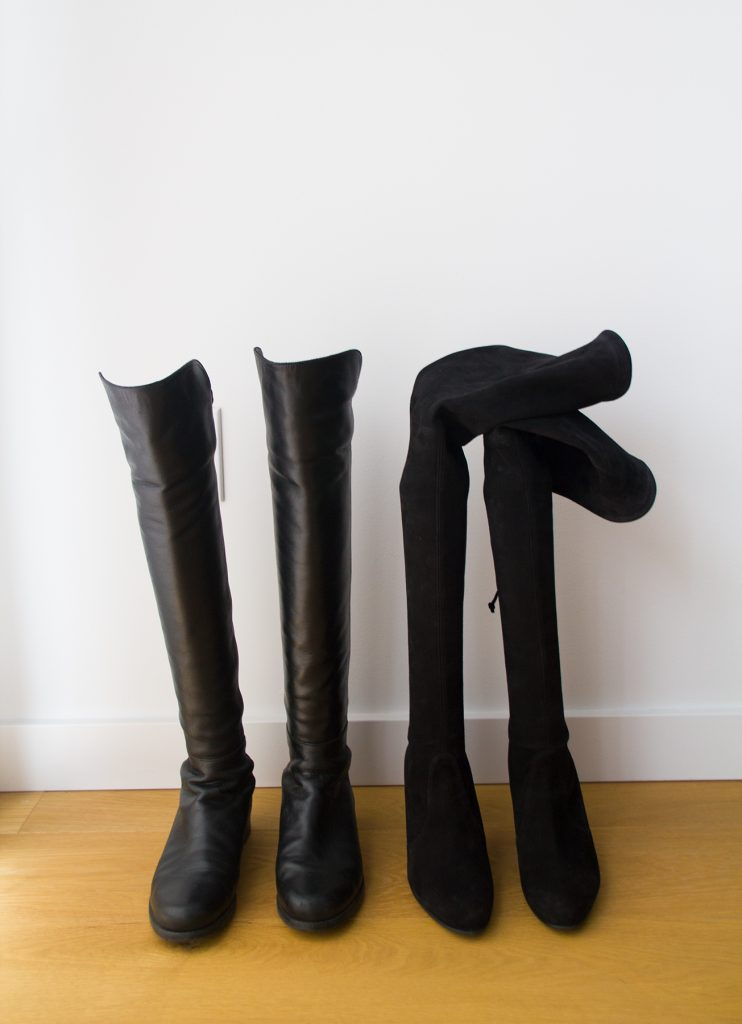 8f900a1b2 As you can see above, the Real Simple plastic boot shapers are a perfect  height match for the 5050s. The Ariat Boot Trees are a bit short on the  Highlands, ...