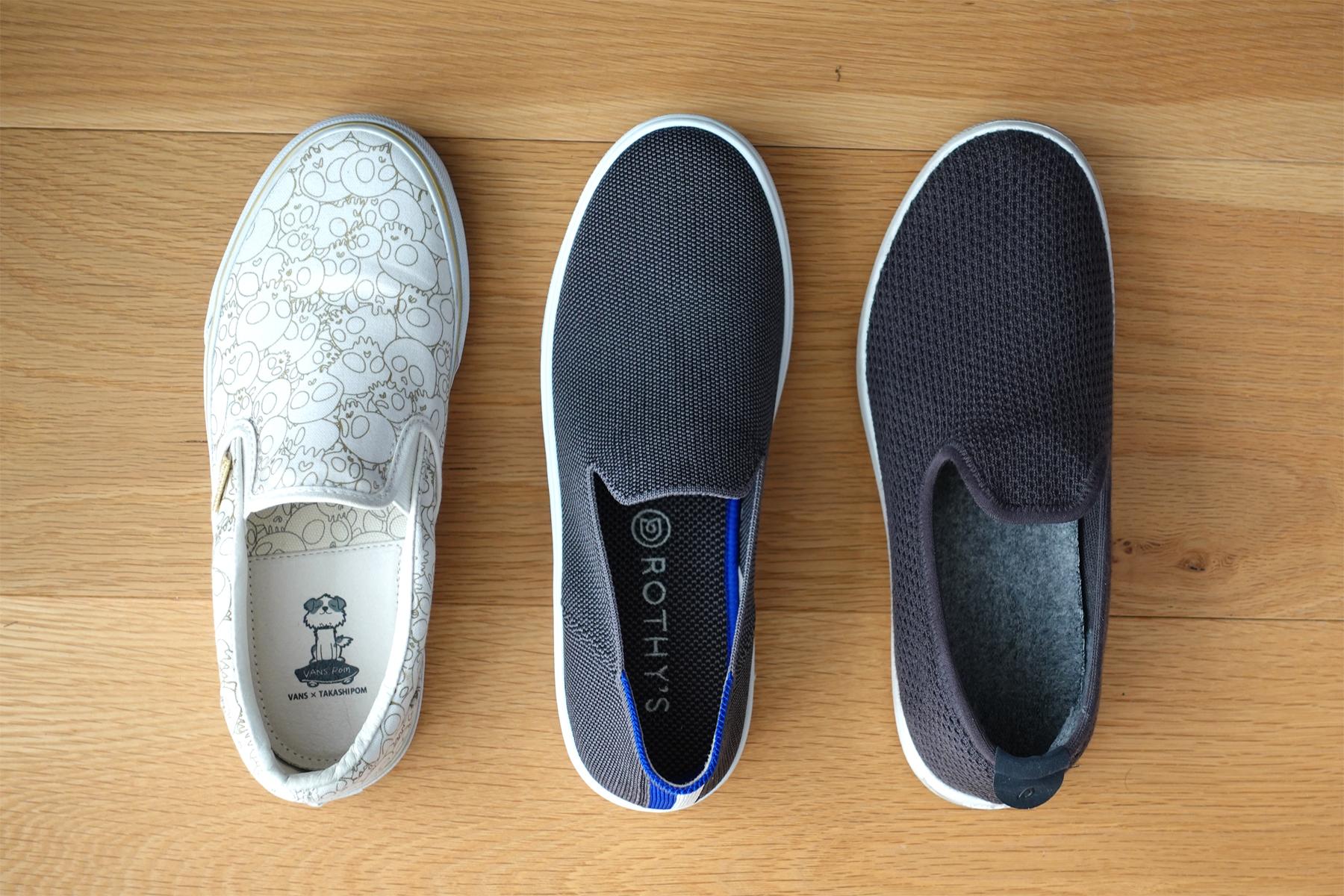 Sneaker vs Allbirds vs Vans