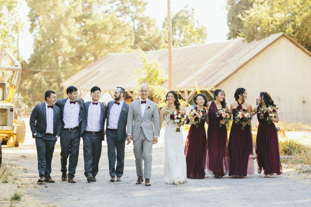 Birdy Grey - Bridal Party - Christina Cabernet