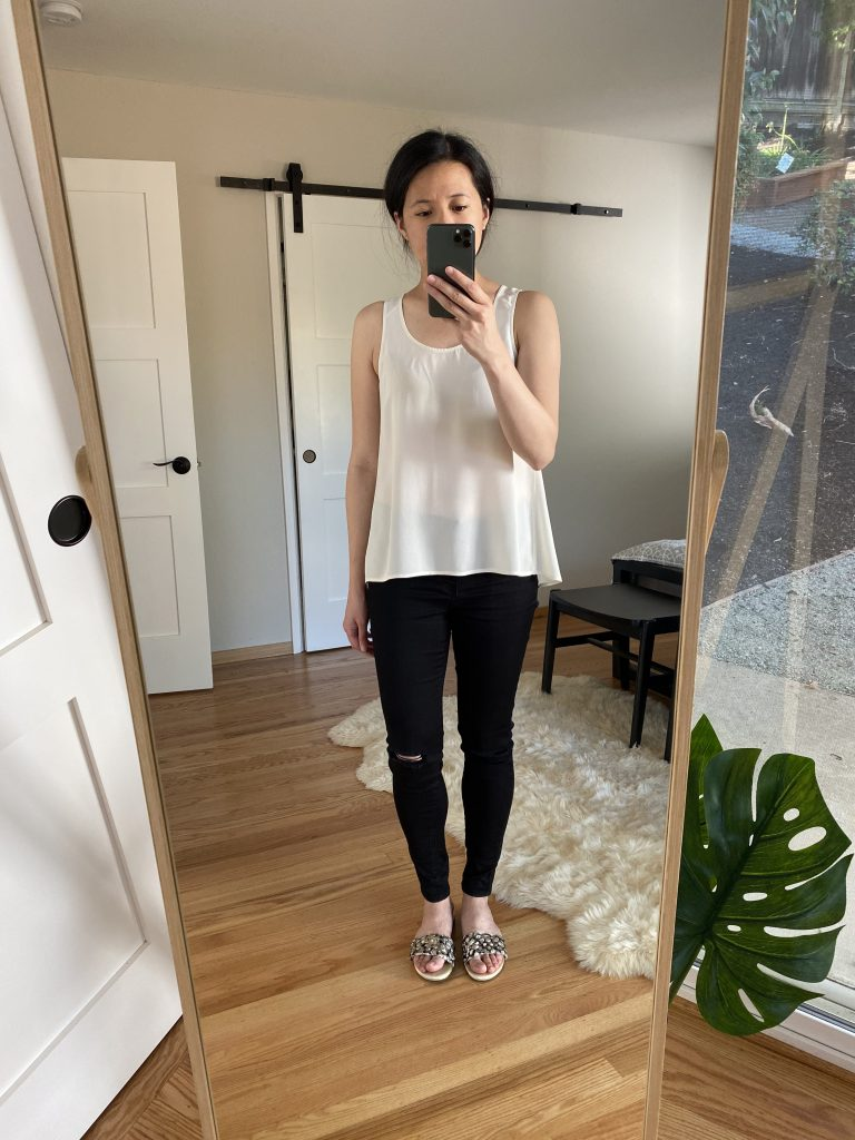 Everlane Silk Tank Review