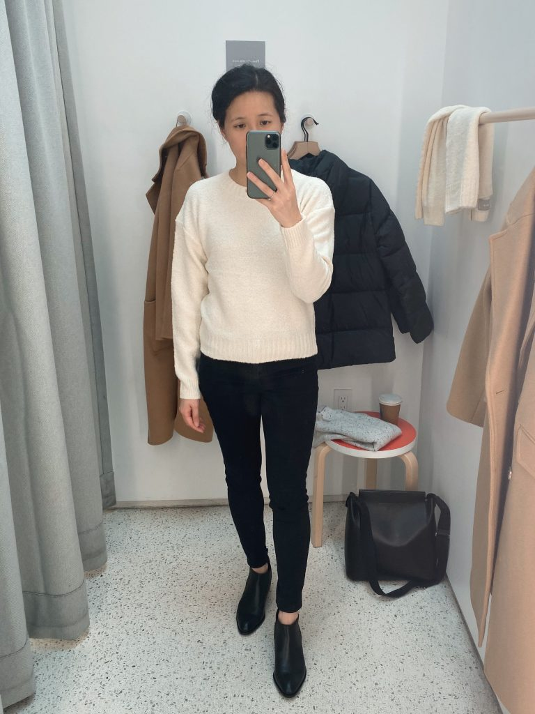 Everlane Teddy Wool Crew Sweater - Size XS