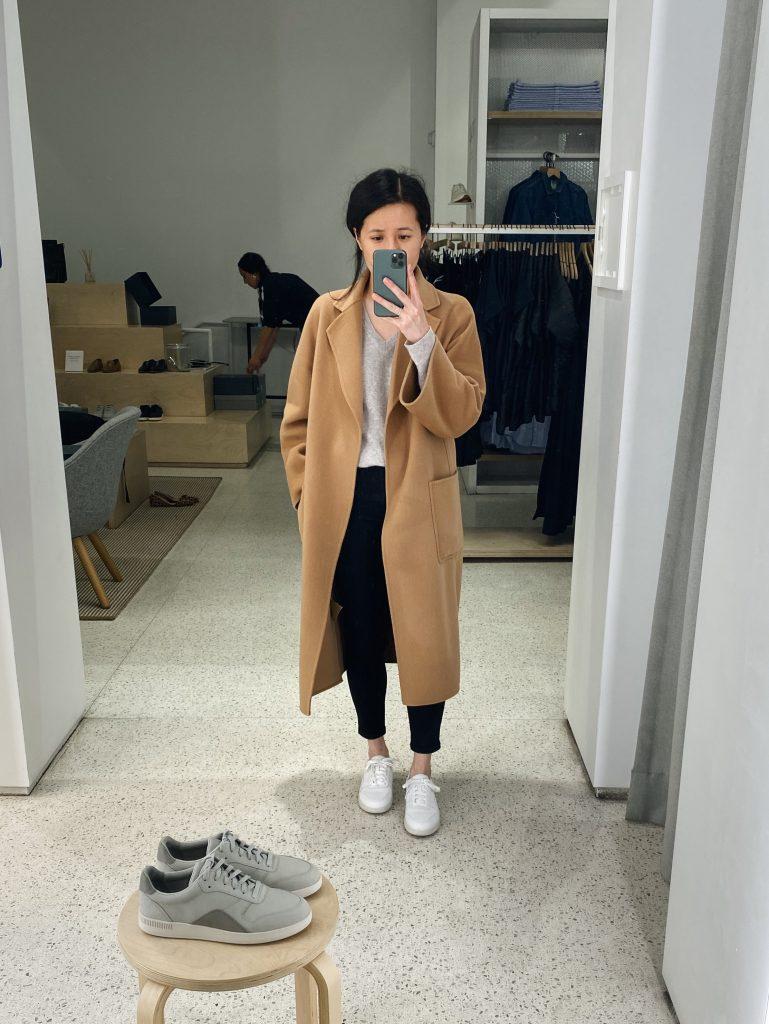 Everlane Court Sneaker Try On