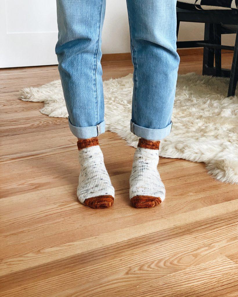 Vanilla is the New Black Socks
