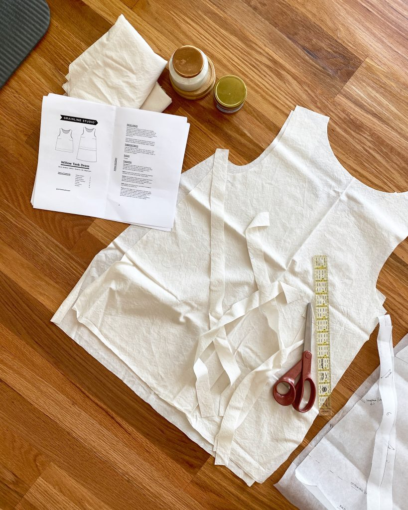 WIllow Tank Fabric by Grainline