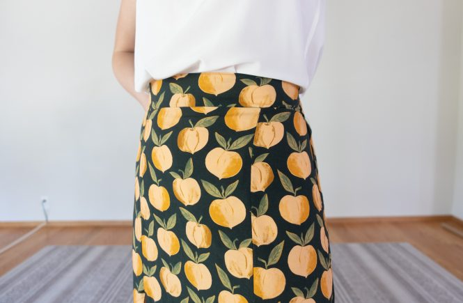 Axis Dress Skirt Pattern Review