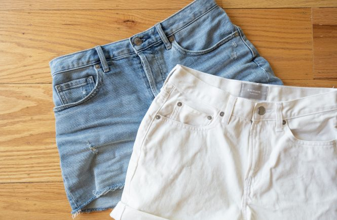 Everlane Denim Shorts Review