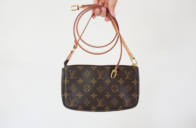 Crossbody Strap for Louis Vuitton Pochette Accessoires