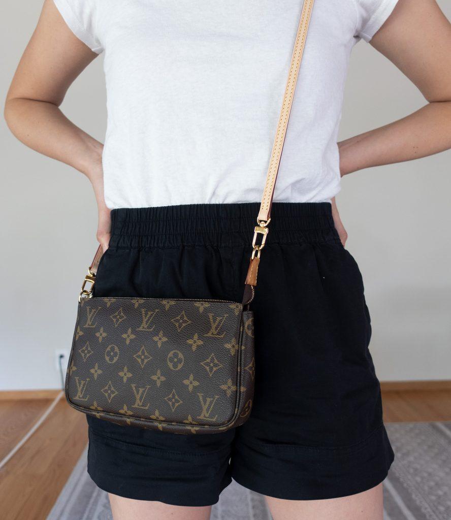 Louis Vuitton Pochette Worn Crossbody