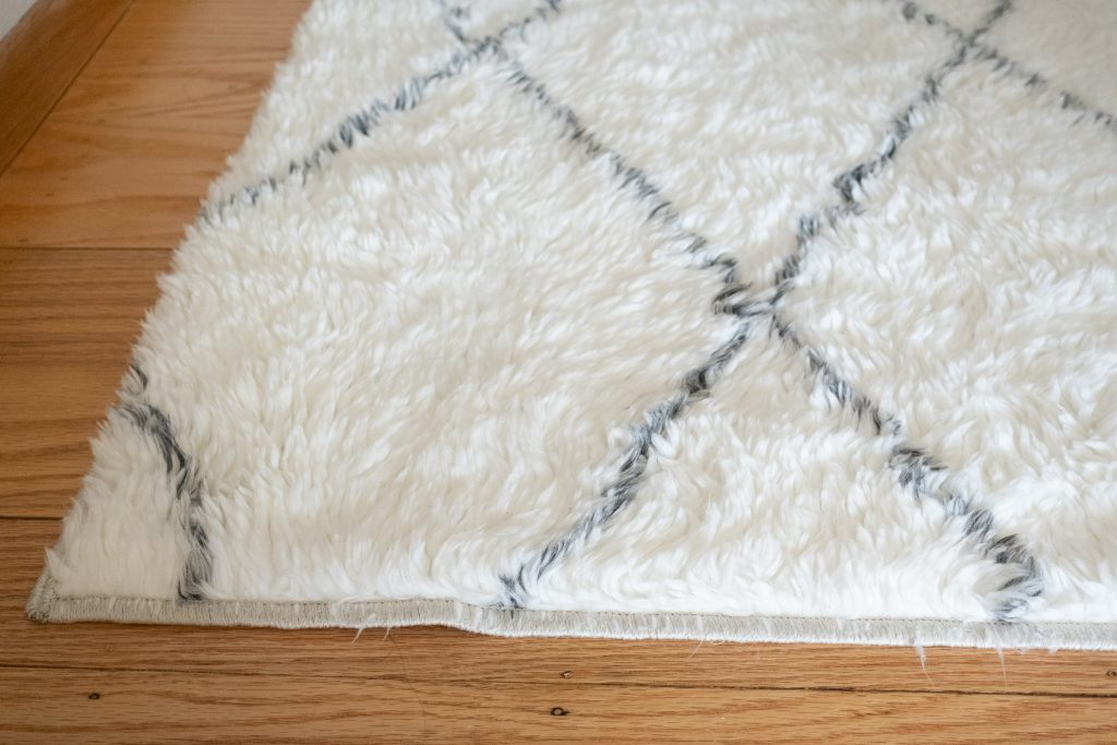 Ruggable Plush Rug After Washing