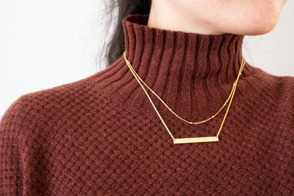 Rellery Double Mini Disk Necklace Review