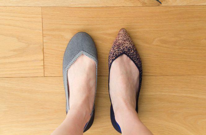 Rothy's Sizing - Point vs Flat