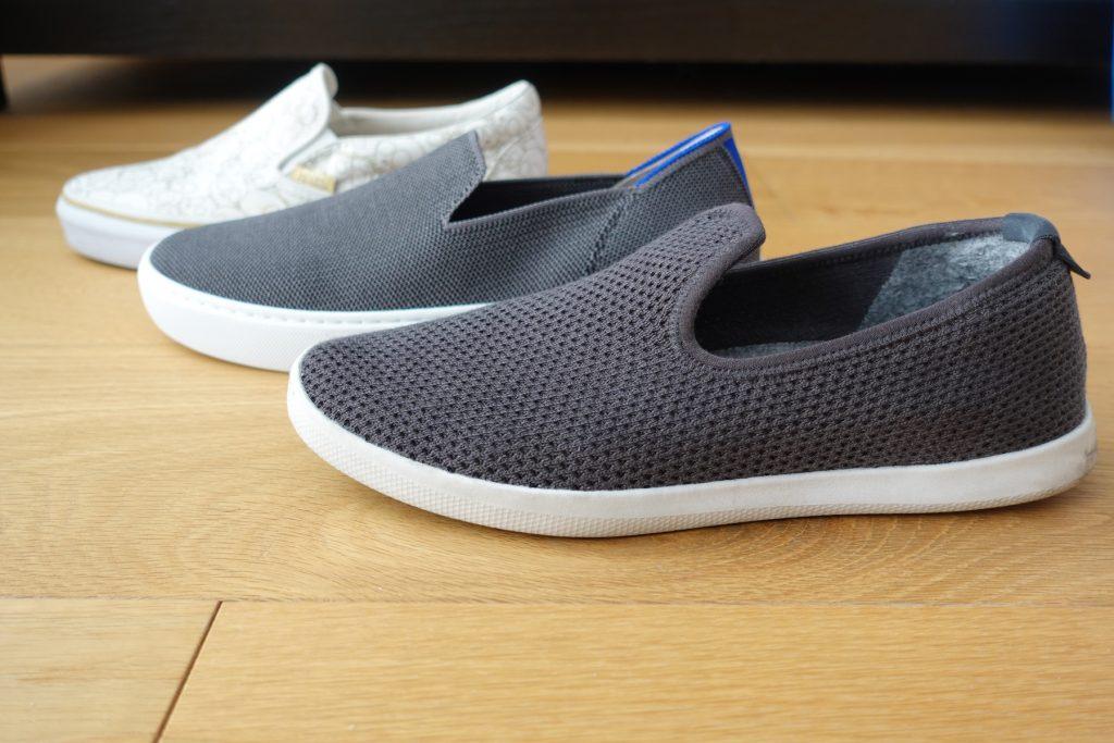 Rothys Sneaker Sole Comparison