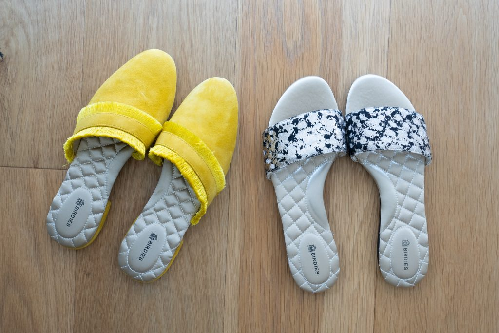 Birdies Sizing & Care - Slides and Slippers