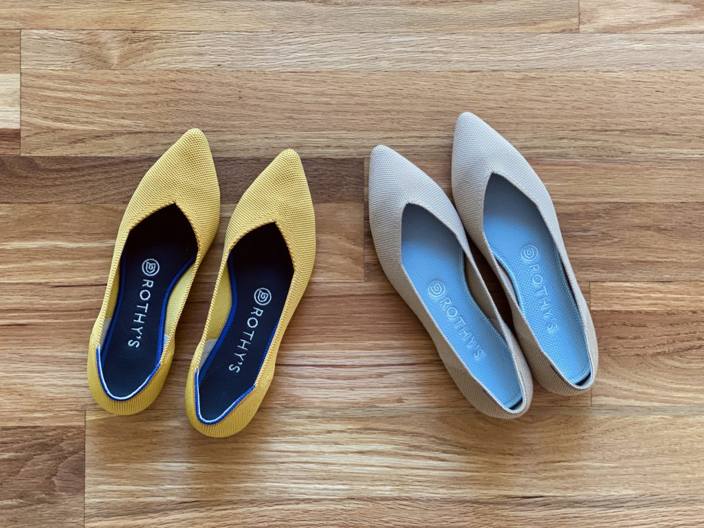 Rothy's Wool vs Recycled Flats