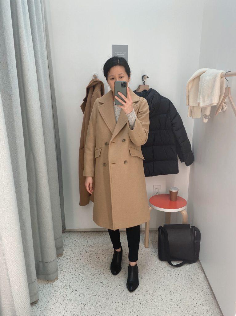 Italian ReWool Overcoat Closed