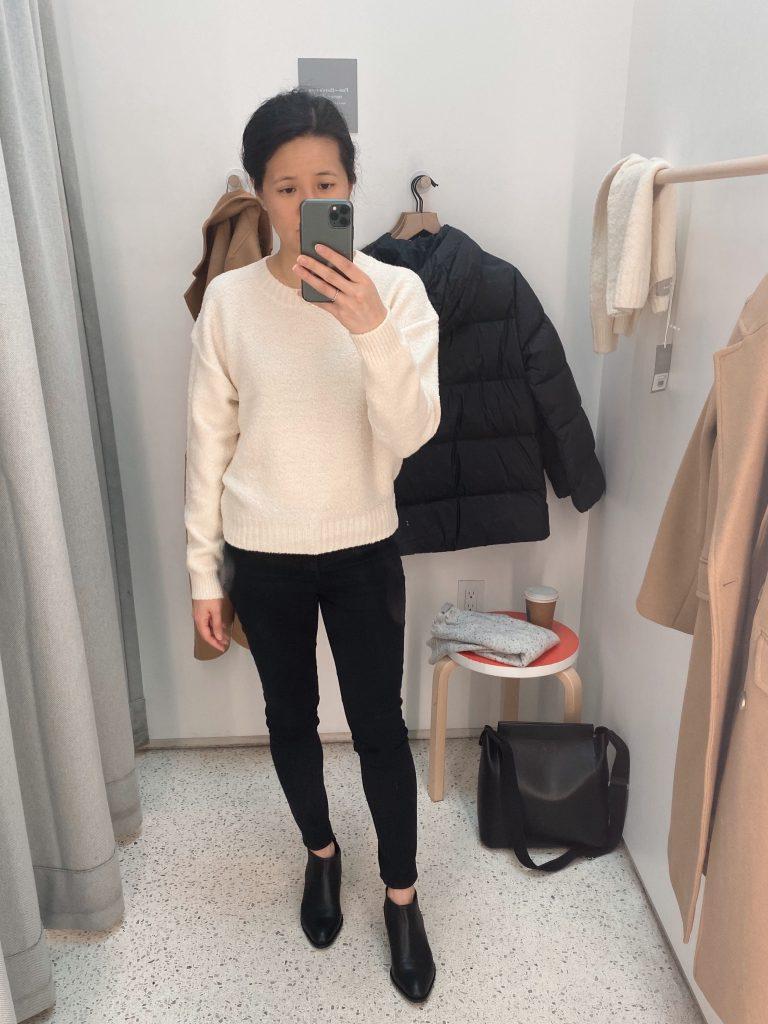 Everlane Teddy Wool Crew Sweater - Size S