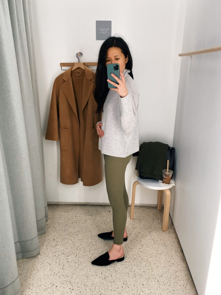 Everlane Perform Leggings Ankle Review - Side