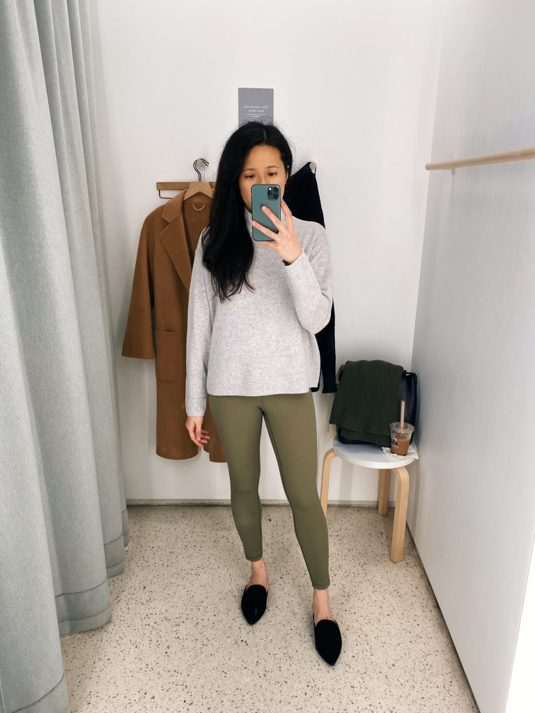 Everlane Perform Leggings Ankle Review