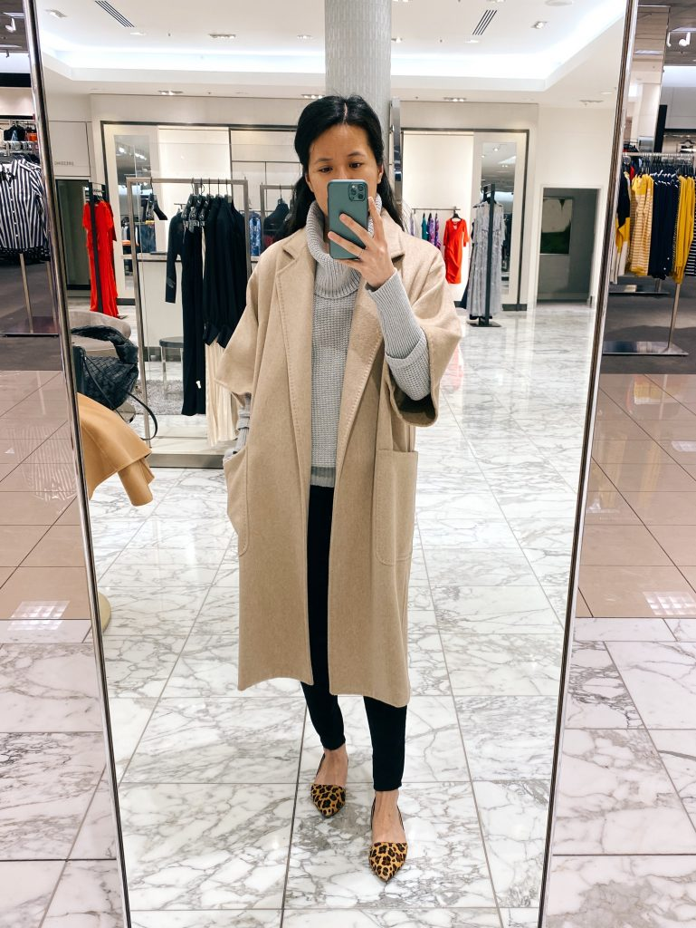 Max Mara Ruta Camel and Cashmere Coat
