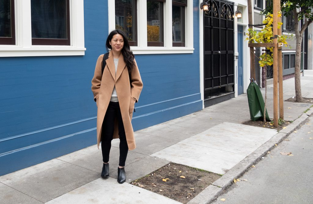 The Curated Coat Review, Classic Coat in Camel