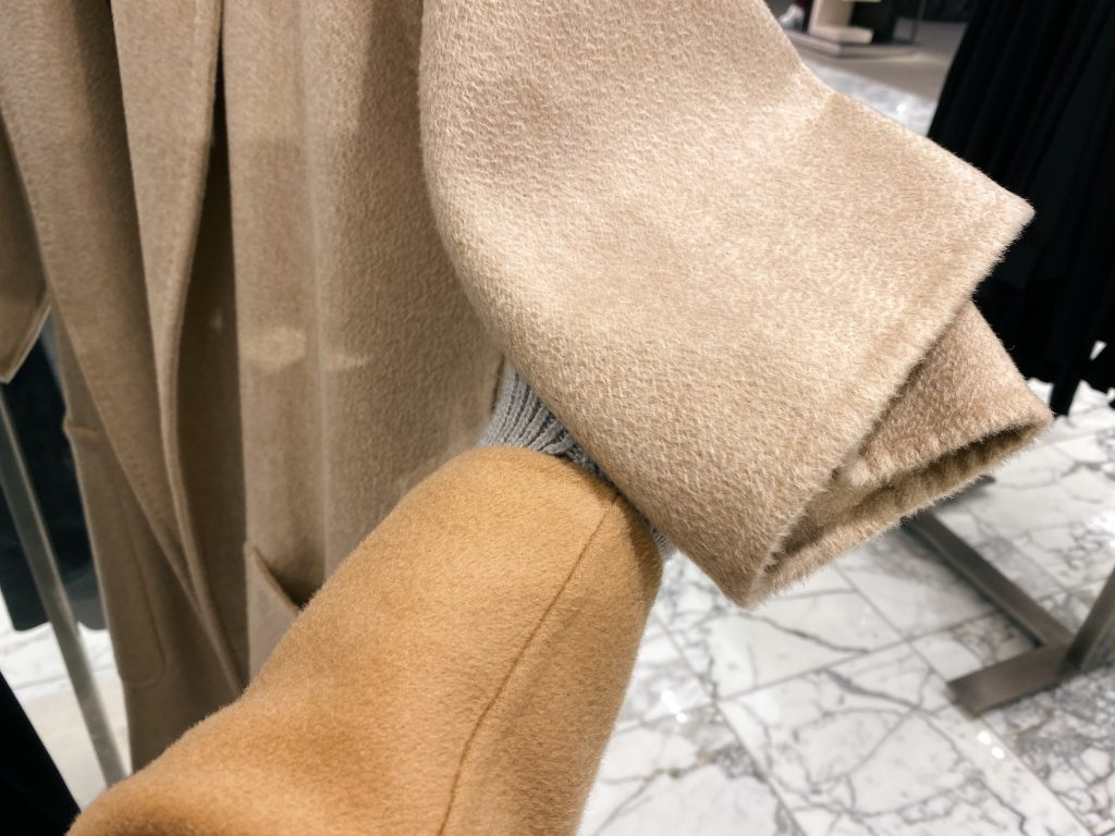 The Curated vs Max Mara Camel and Cashmere