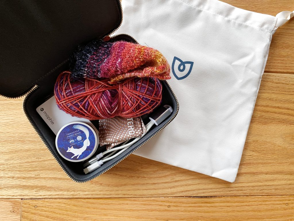 Yarn Stored in Rothy's Mid Catchall