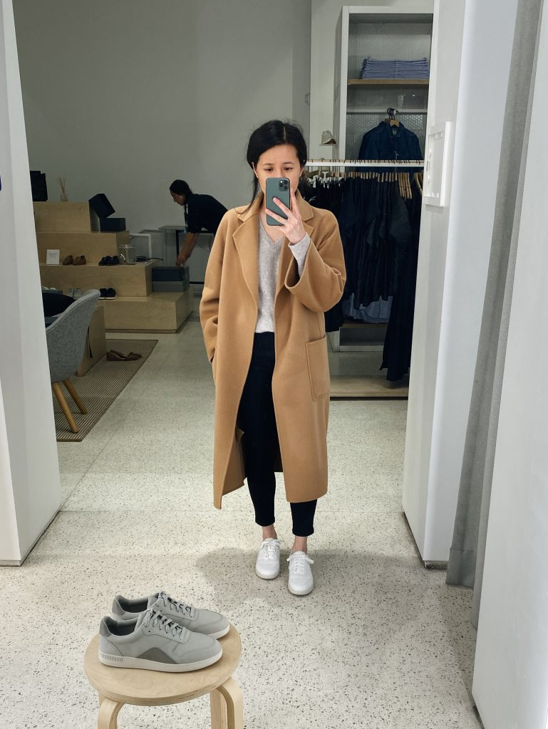 Everlane Court Sneaker Try On