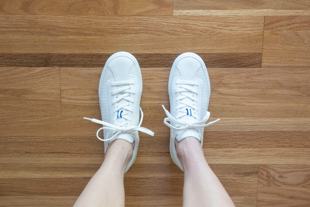Rothy's Lace Up Size Comparison