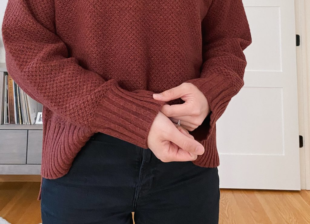 Everlane ReCashmere Stroopwafel Sweater Review