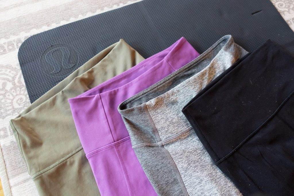 Everlane vs Lululemon vs Girlfriend Leggings
