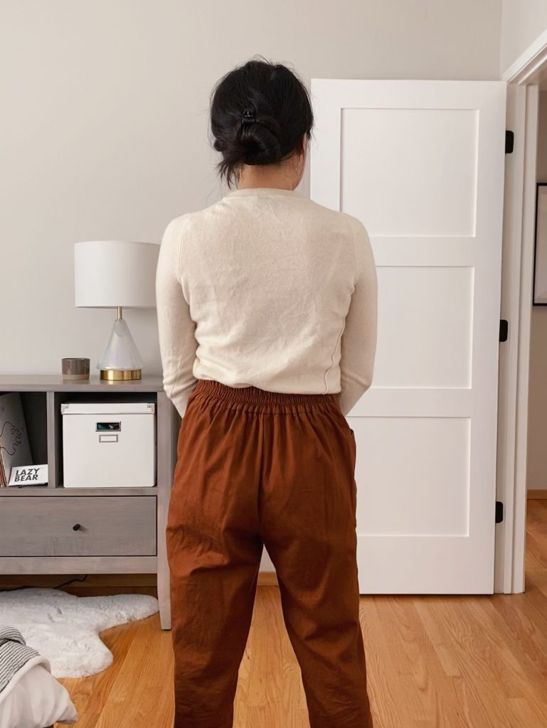 Pietra Pants Tapered - Back