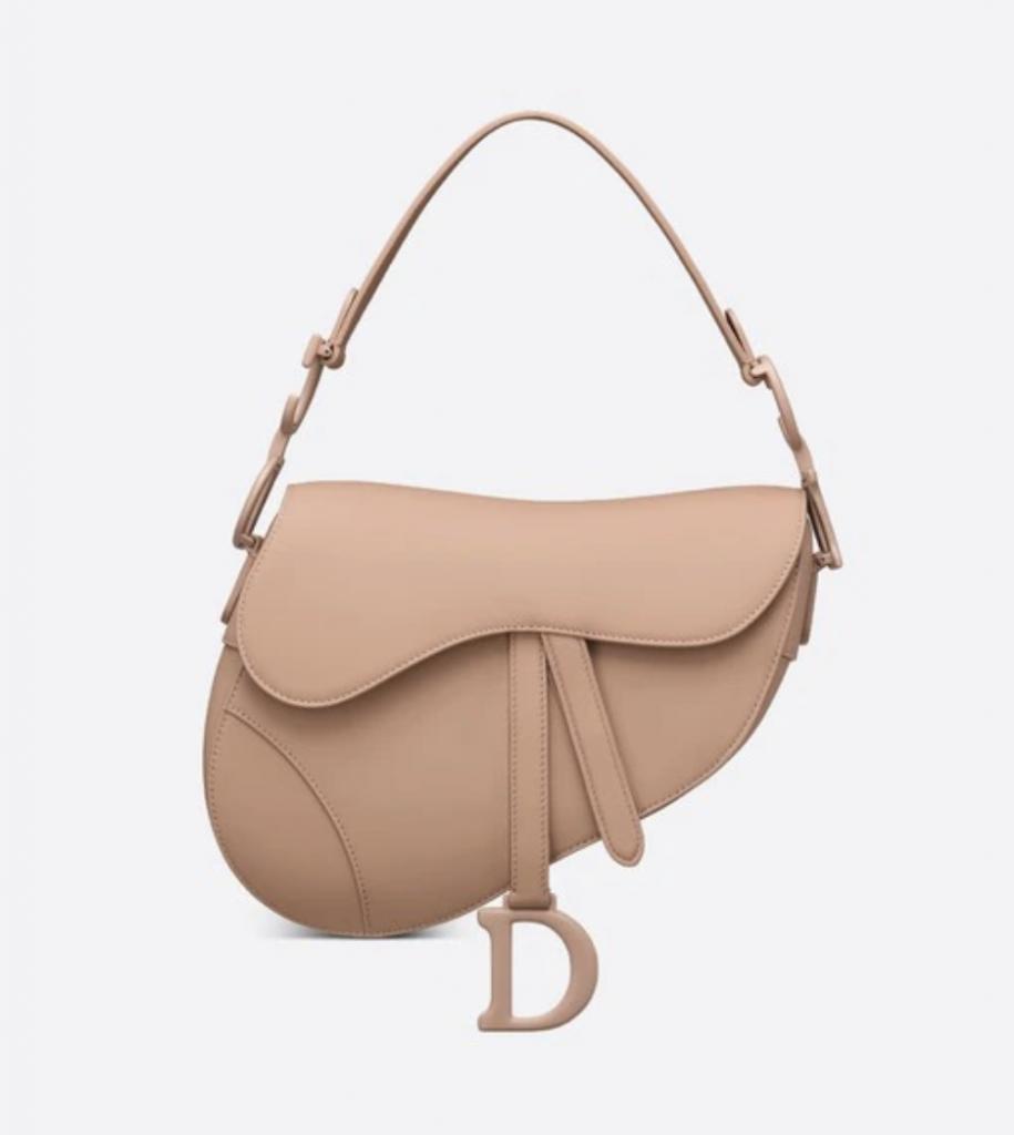 Dior Saddle Bag in Blush Ultramatte