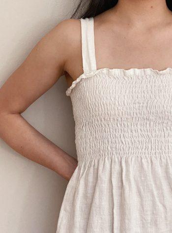 DIY Shirred Dress Review