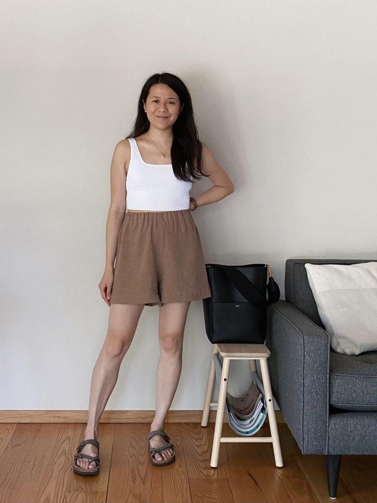 Pomona Shorts Pattern Review