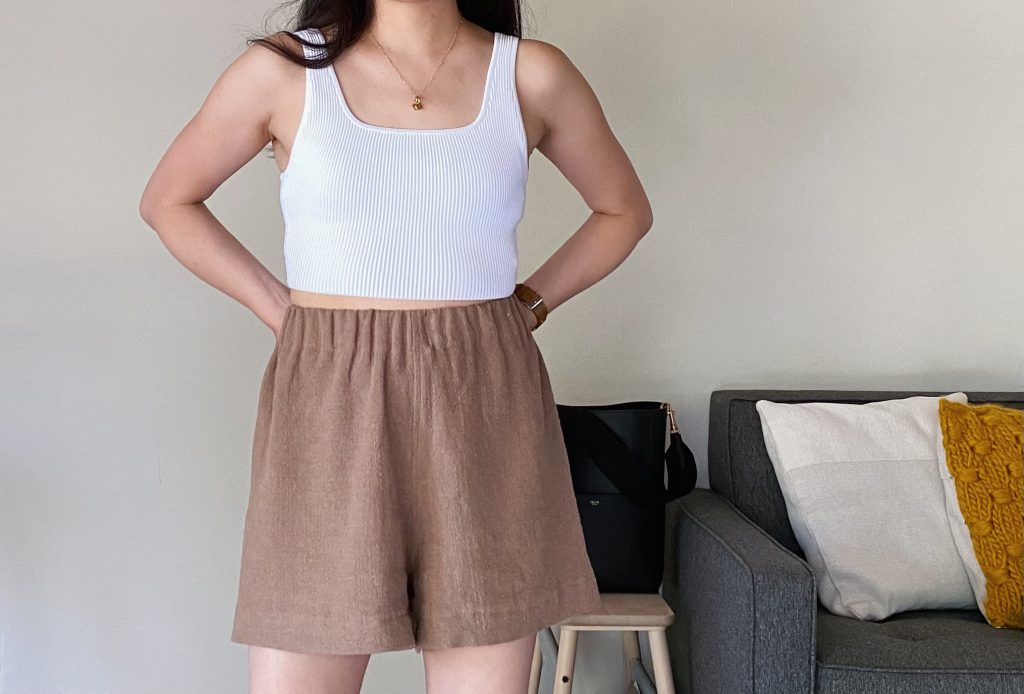 Pomona Shorts Front