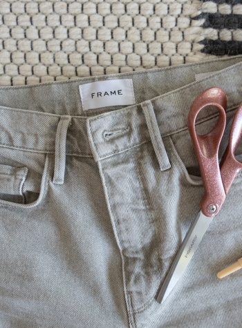 How to Take in Jeans Waist without a Sewing Machine